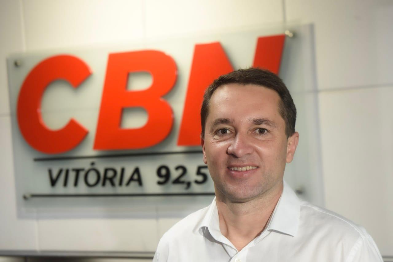 Mário Bonella será o novo apresentador do programa CBN Cotidiano. Crédito: Vitor Jubini | A Gazeta