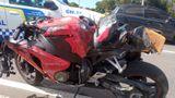 Homem pilotava a moto modelo Honda 1000 RR quando sofreu o acidente
