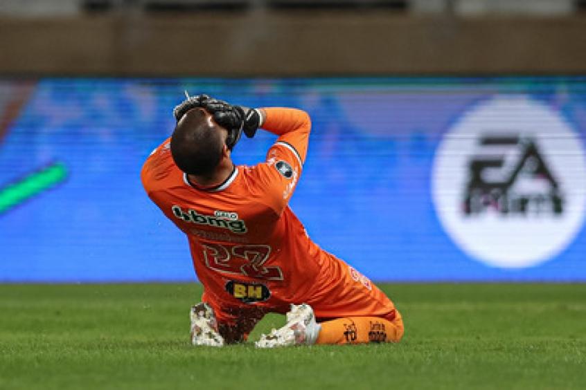Crédito: A boa fase no Atlético-MG levou o goleiro a conseguir sua primeira convocação para a Seleção Brasileira-(Pedro Souza/Atlético-MG