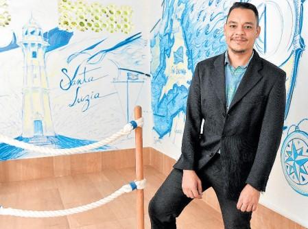 Arte da Sala da Memória foi feita pelo ilustrador Rodolpho Valdetaro