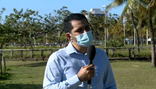 O meteorologista do Incaper, Ivaniel Maia, em entrevista à TV Gazeta