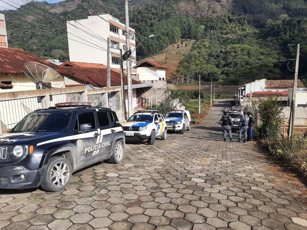 Organização criminosa é desarticulada em Venda Nova do Imigrante. Crédito: Polícia Civil