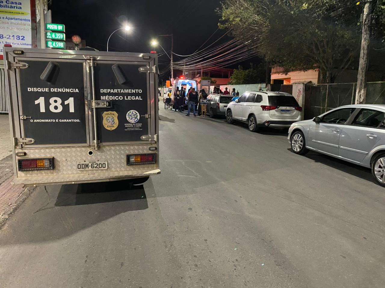 Menina de 2 anos é atropelada por ônibus e morre em Linhares. Crédito: Caio Dias