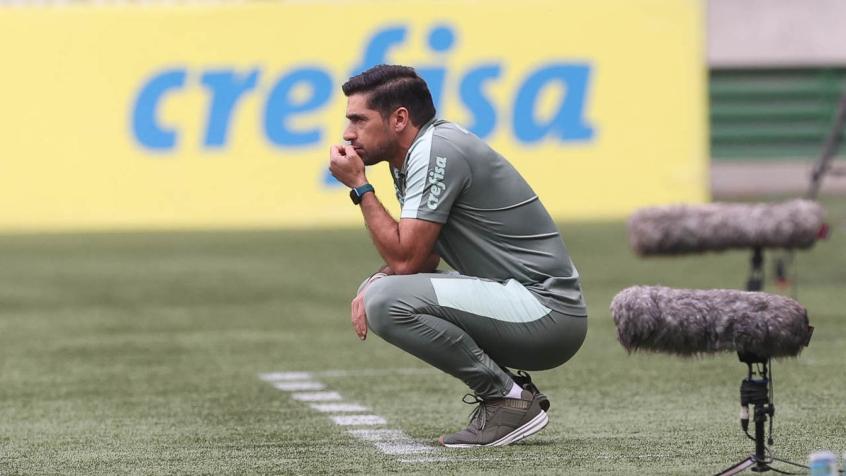 Crédito: O Palmeiras de Abel Ferreira foi derrotado pelo Flamengo no Allianz Parque (Cesar Greco