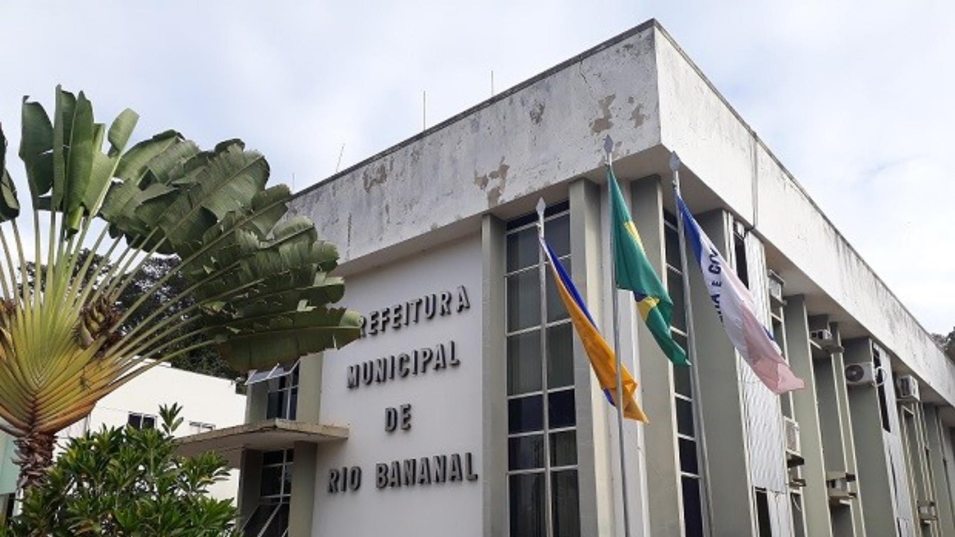 Prefeitura de Rio Bananal. Crédito: Prefeitura de Rio Bananal