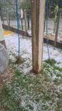 Chuva de granizo também foi registrada em Domingos Martins nesta quinta-feira (30)
