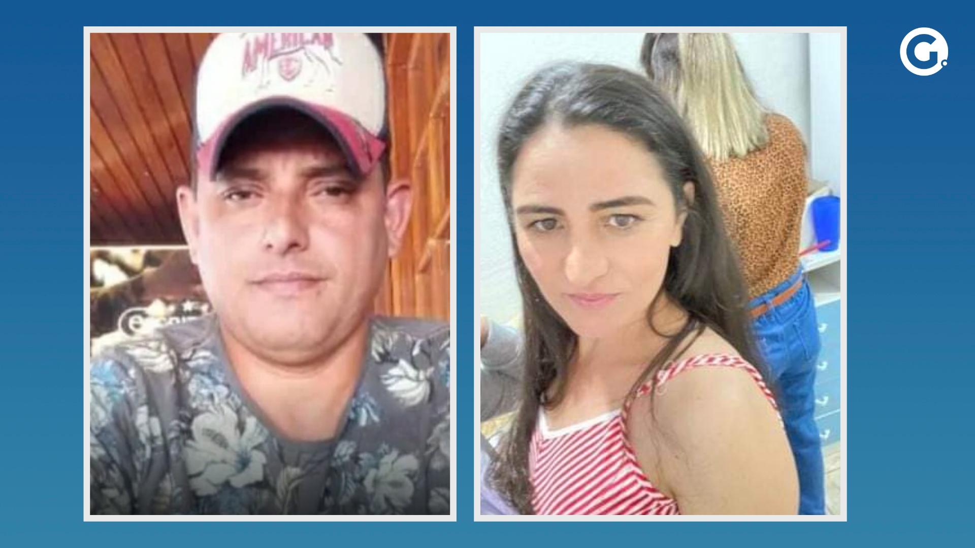 Corpo de Brás Moreira Rodrigues foi encontrado e Adriana Torrente Moreira segue desaparecida. Crédito: Reprodução | Arte A Gazeta