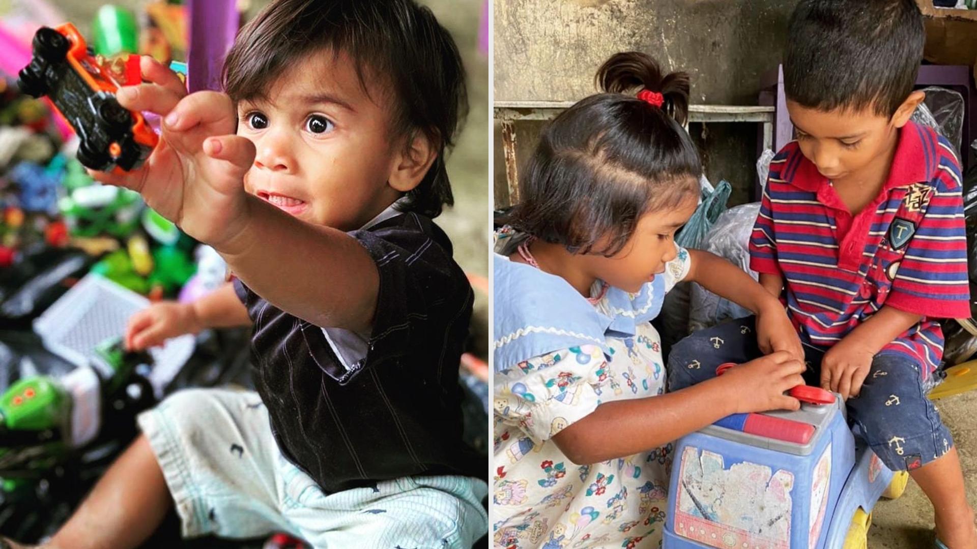 Crianças de aldeias indígenas de Aracruz em ação do projeto. Crédito: Janaína Muniz