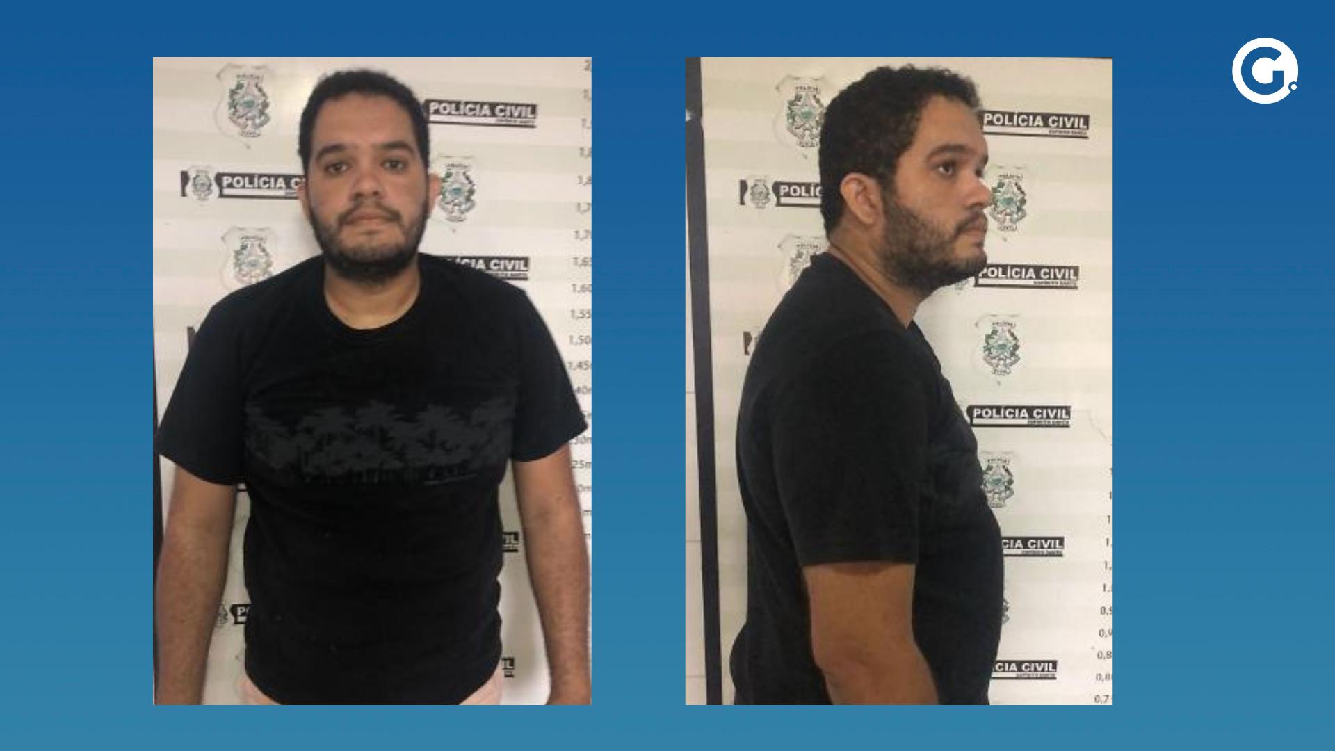 Paulo Roberto Alves Nascimento, de 28 anos, é procurado pela Polícia Civil. Crédito: Divulgação | PCES